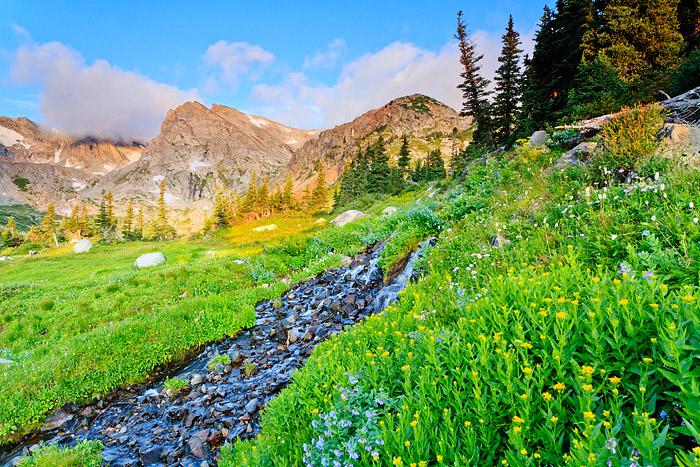 Boulder, Indian Peaks Wilderness, Brainard Lake, Isabelle, Shoshone Peak, photo