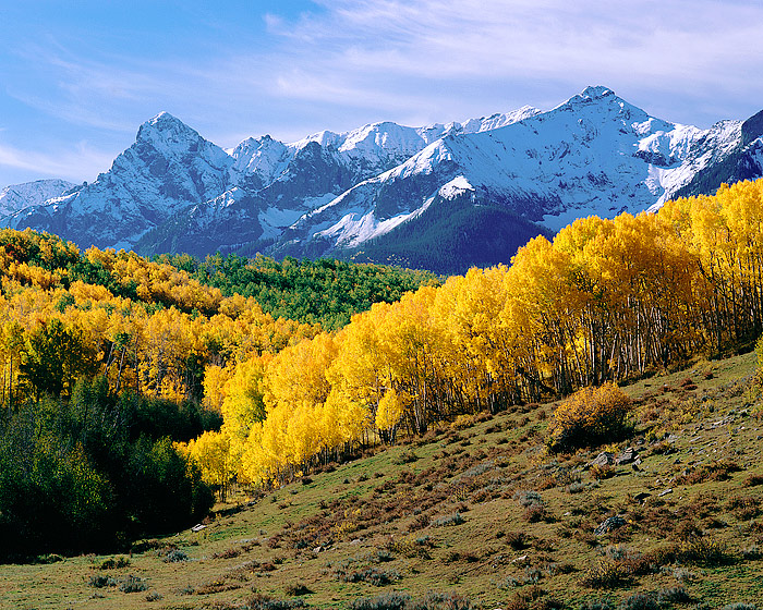 San Juans, Fall Color, Last Dollar Road, Ridgeway, Telluride, Ouray, Aspens, photo