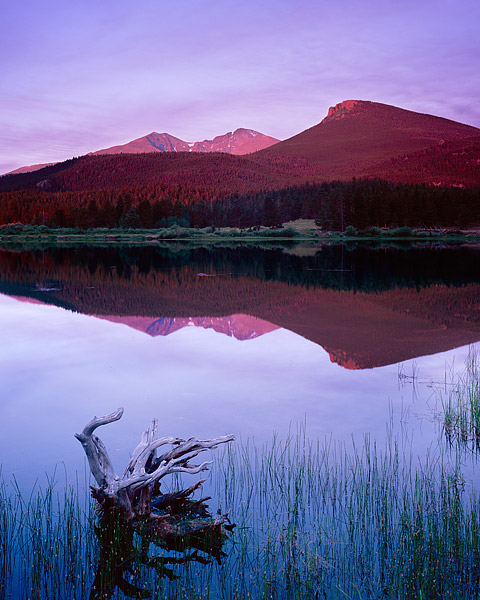 Rocky Mountain National Park, Tahosa Valley, Longs Peak, Mt. Meeker, Estes Park, Bear Lake, lily lake , photo