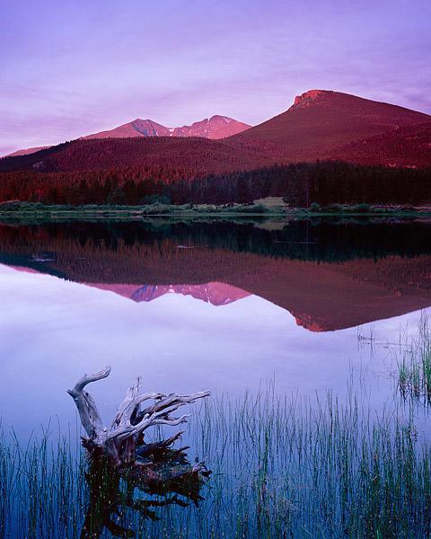 Rocky Mountain National Park, Tahosa Valley, Longs Peak, Mt. Meeker, Estes Park, Bear Lake, lily lake , photo