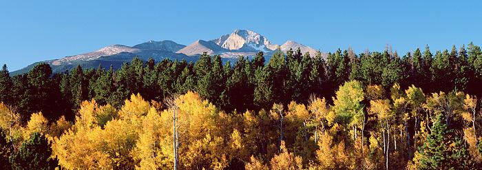 Rocky Mountain National Park, Longs Peak, Colorado, The Diamond, Fall, photo