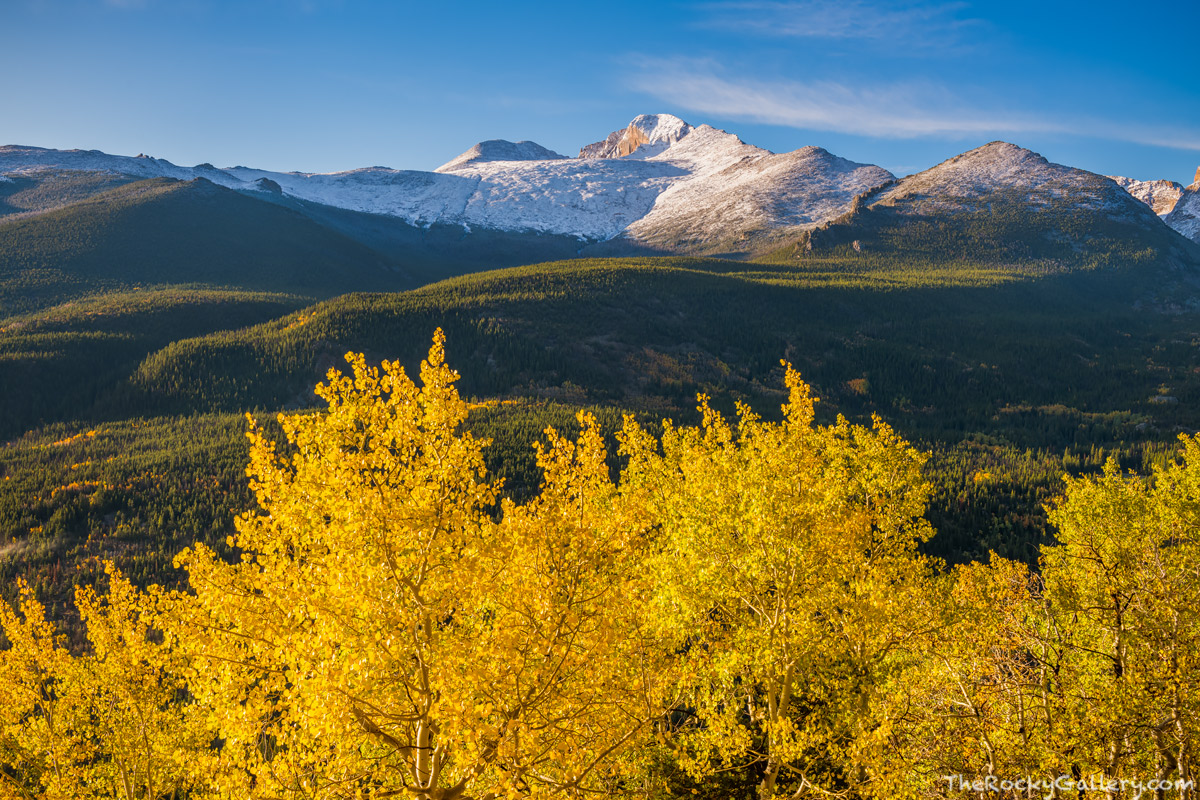 Bierstadt Moraine,Bear Lake Road,September,Fall,Autumn,Longs Peak,Snow,Aspens,Golden,Estes Park,Colorado,RMNP,Rocky Mountain National Park, The Diamond,Landscape,Photography , photo