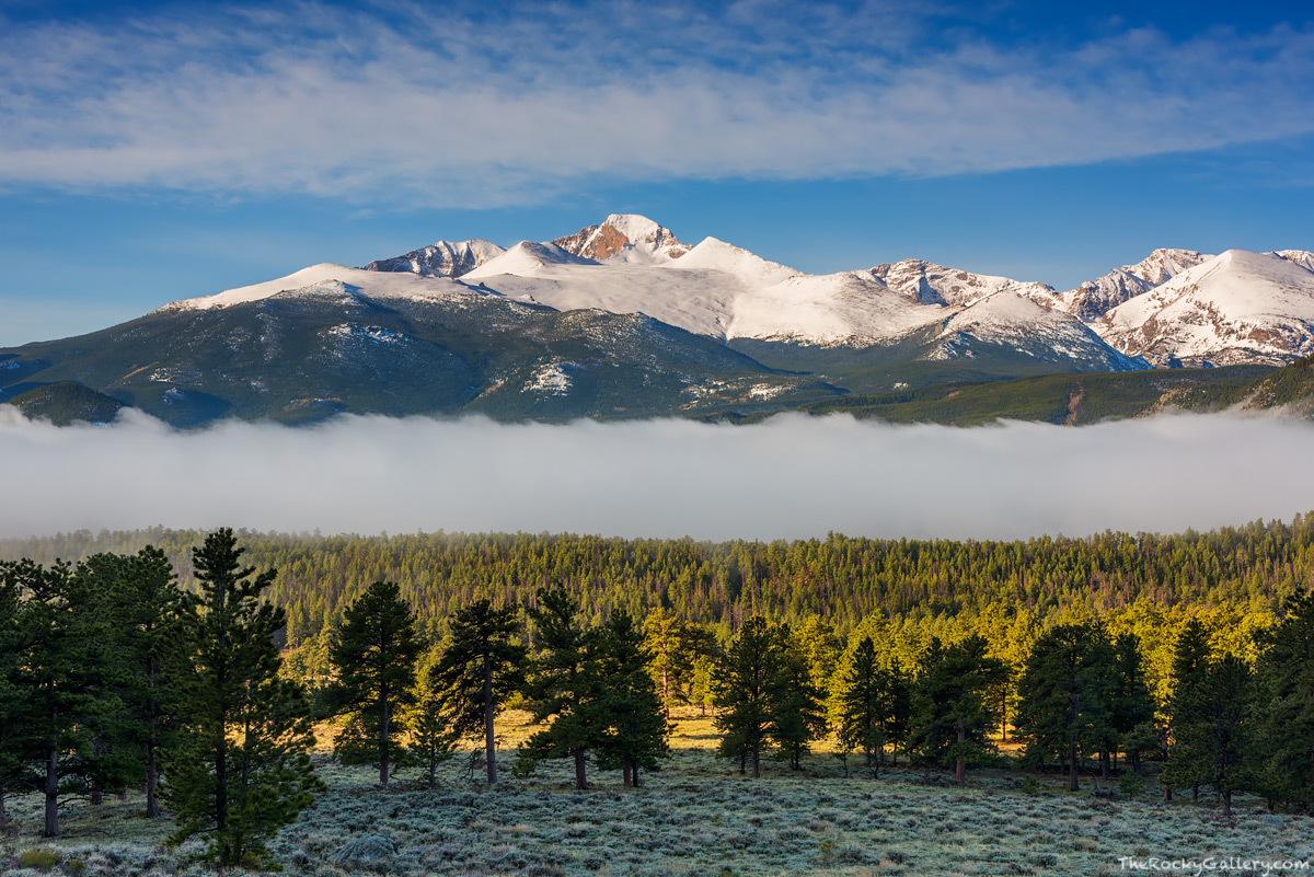 Beaver Meadows,Longs Peak,Snow,Fog,Entrance,Rocky Mountain National Park,Colorado,RMNP,Estes Park,Trail Ridge Road,Sunrise,The Diamond,May,spring,continental divide,Landscape,Photography,Moraine Park, photo