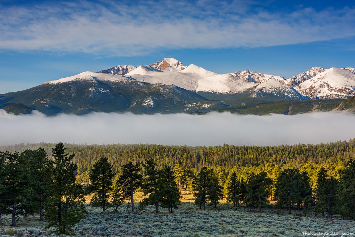 Beaver Meadows,Longs Peak,Snow,Fog,Entrance,Rocky Mountain National Park,Colorado,RMNP,Estes Park,Trail Ridge Road,Sunrise,The Diamond,May,spring,continental divide,Landscape,Photography,Moraine Park, photo