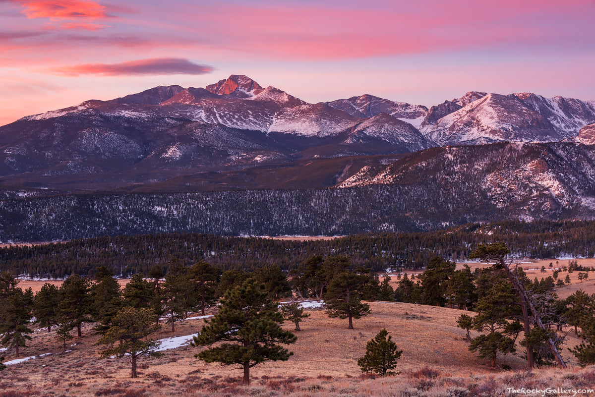 Upper Beaver Meadows,Longs Peak,Moraine Park,Sunrise,Landscape,Photography,RMNP,Colorado,Rocky Mountain National Park,Trail Ridge Road,Estes Park,March,Deer Mountain , photo