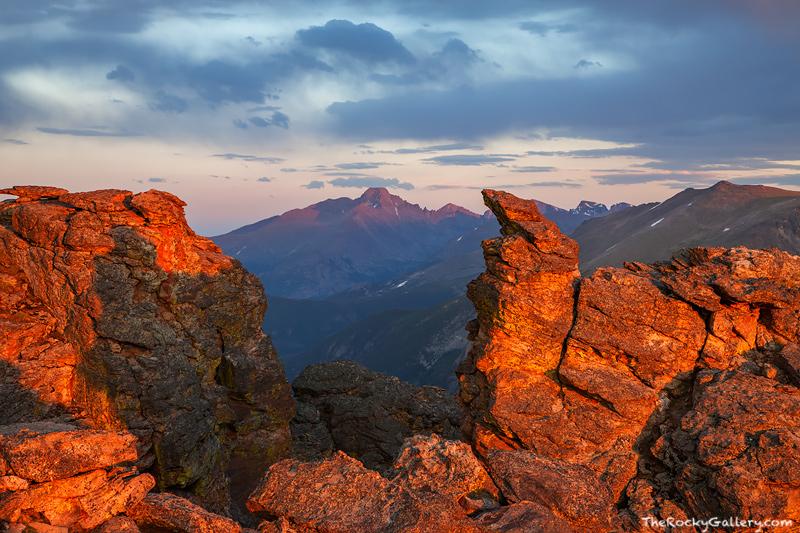 Rocky Mountain National Park, Colorado, Longs Peak, Rock Cut, Trail Ridge Road,sunset,view,forest canyon,specimen mountain,Estes Park,RMNP,Landscape,Photography, photo