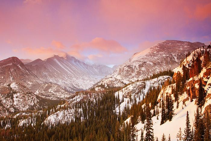 Rocky Mountain National Park, Colorado, Longs Peak, Bear Lake, Estes Park, 14'er, photo