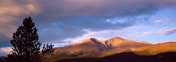 Longs Peak, Rocky Mountain National Park, Tahosa Valley, Mt. Meeker, Estes Park, Twin Sisters, photo