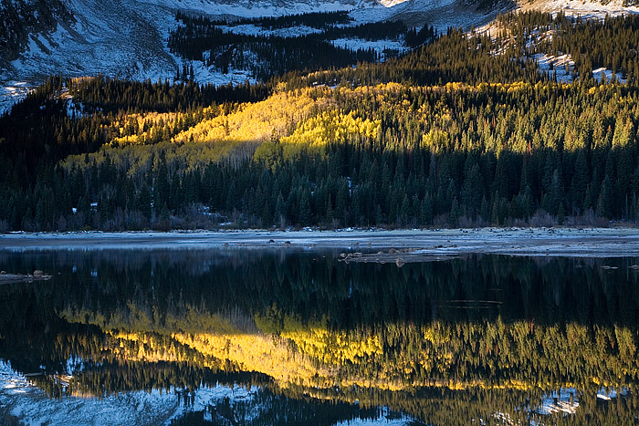 Lost Lake, Crested Butte, Kebler Pass, Fall Color, Aspens, photo