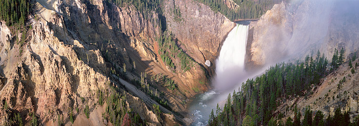 Lower Falls, Yellowstone, Wyoming, National Park, photo