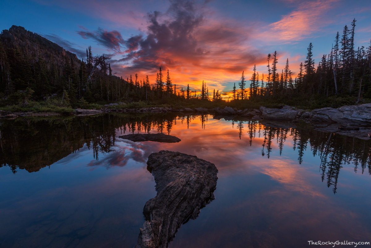 Marigold Ponds,Two Rivers Lake,Bear Lake Trailhead,Joe Mills Mountain,Sunrise,Reflection,RMNP,Landscape,Photography,Colorado,Rocky Mountain National Park