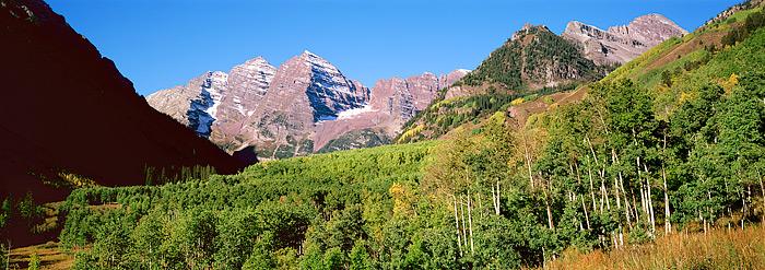 Maroon Bells, Aspen, Fall Color, Colorado, photo