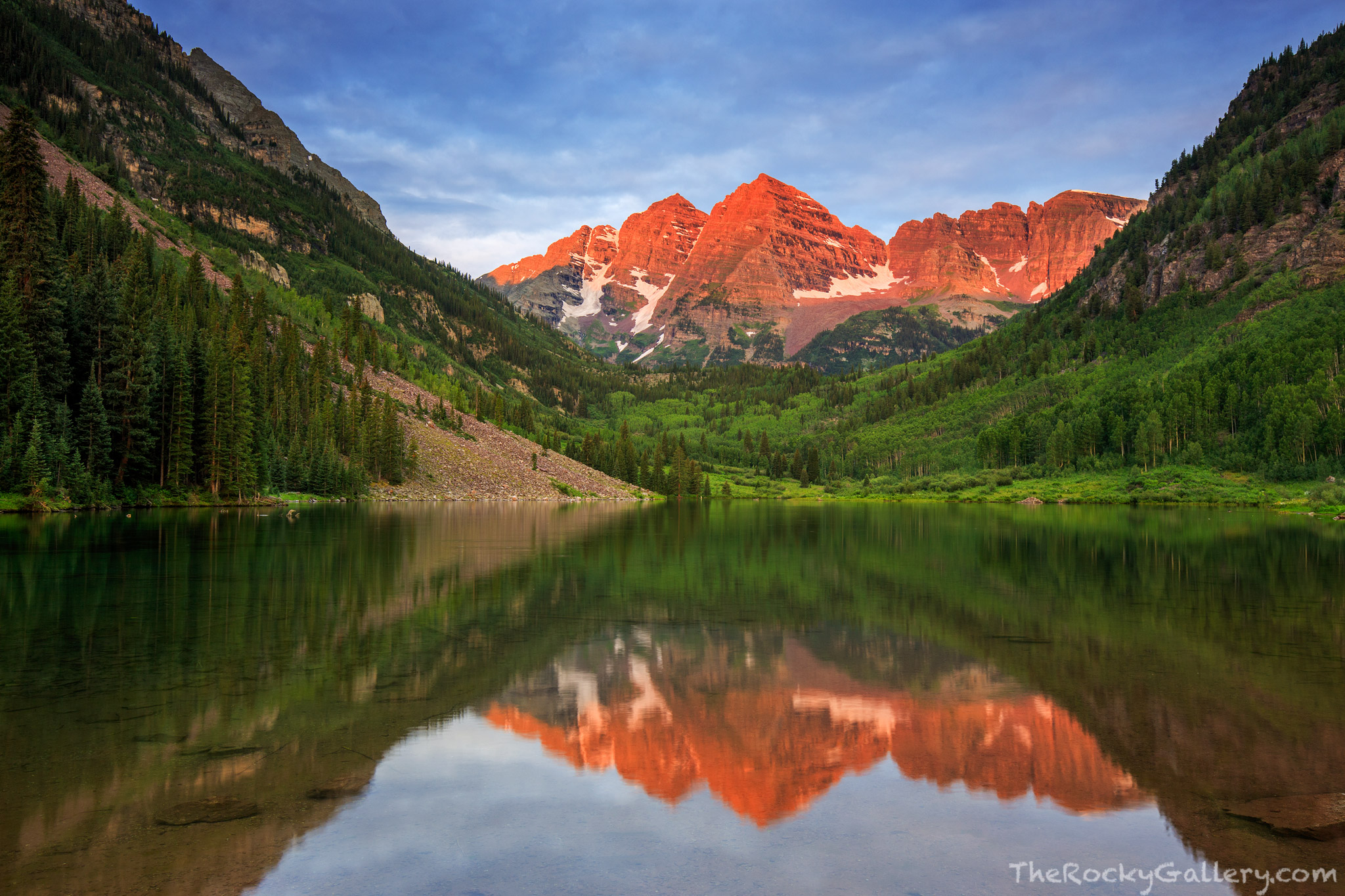 Maroon Bells, Maroon Lake, Colorado,Sunrise,Landscape,Photography,Reflection,Photography,Summer,July,Aspens , photo