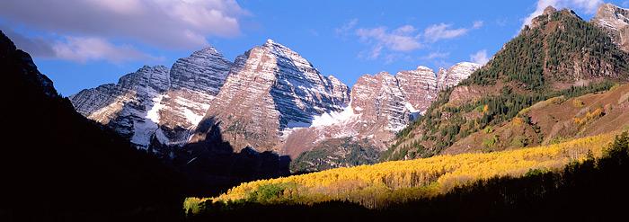 Colorado, Maroon Bells, Aspen, Fall Color, photo
