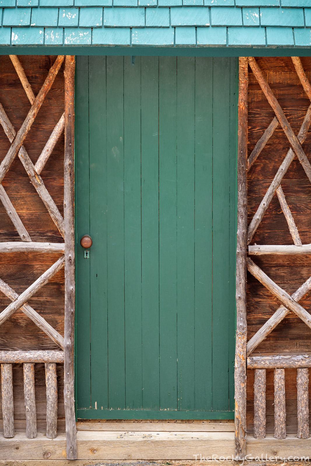 McGraw Ranch, Indian Head,Lumpy Ridge,Colorado,Dude Ranch,RMNP,Rocky Mountain National Park,Landscape,Photography,January,Door,Hand of Man,Estes Park,National Historic Register,Outhouse,Bridal Veil Fa, photo