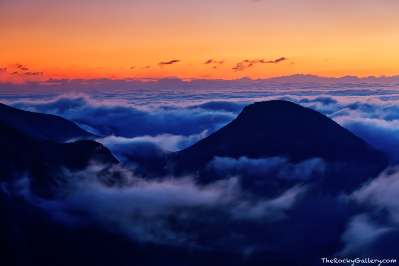 Trail Ridge Road,McGregor Mountain,Colorado,Rocky Mountain National Park,Inversion,snow,Rainbow Curve,sunrise,mummy range,RMNP,Estes Park,Grand Lake,Landscape,Photography,Fog,October, photo