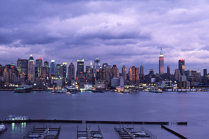New York City, Midtown, Manhattan, Hudson River, photo