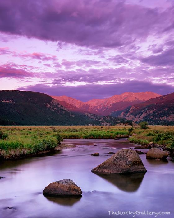 Rocky Mountain National Park, Estes Park, Big Thompson, Moraine Park, Trail Ridge Road, Bear Lake,anglers,sunrise,trout, photo