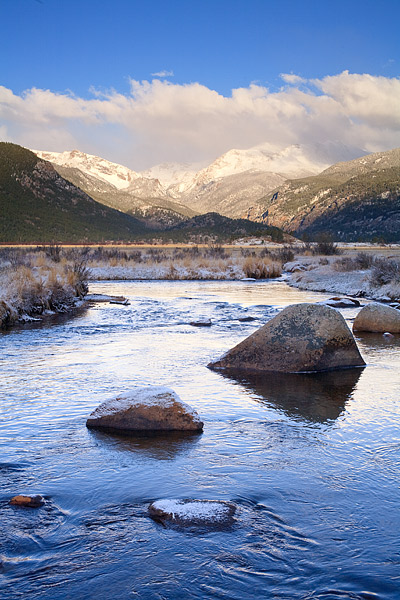 Moraine Park, Big Thompson, Rocky Mountain National Park, Estes Park, Bear Lake, photo