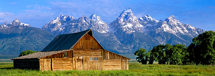 Grand Teton National Park, Mormon Row, Jackson Hole, Wyoming, Barns, photo