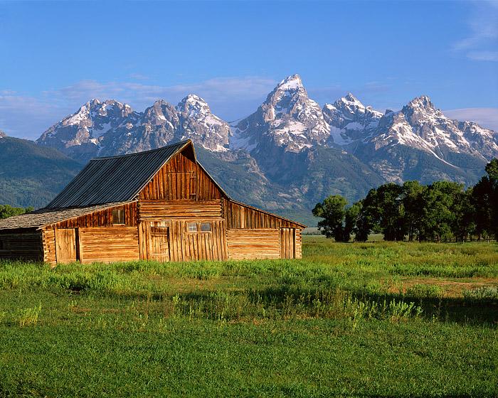 Grand Teton National Park, Mormon Row, Jackon Hole, Barns, photo