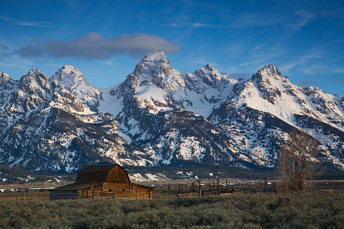 Moulton Barn, Grand Teton National Park, Jackson Hole, Wyoming, photo