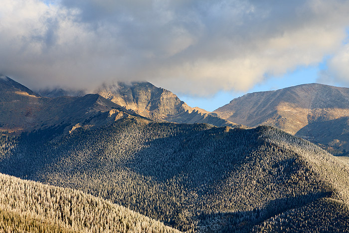 Rocky Mountain National Park,Mummy Range,Mount Yipsilon,Colorado,Snow,Ice, photo