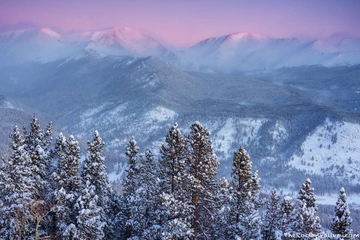 Ypsilon Mountain,Mummy Range,December,Snow,Snowstorm,Trail Ridge Road,Estes Park,Landscape,Photography,RMNP,Rocky Mountain National Park,RMNP,Colorado