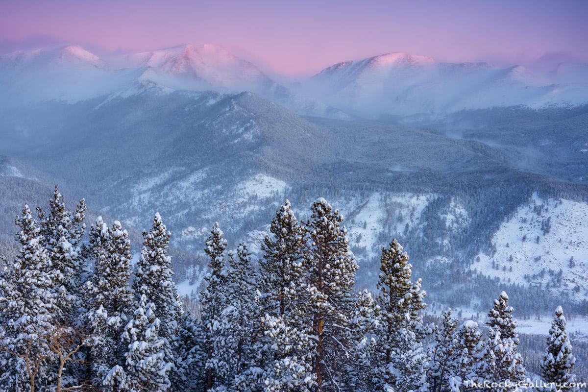 Ypsilon Mountain,Mummy Range,December,Snow,Snowstorm,Trail Ridge Road,Estes Park,Landscape,Photography,RMNP,Rocky Mountain National Park,RMNP,Colorado