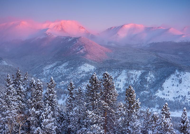Mummy Range,Trail Ridge Road,Winter,Snow,Closed,Ypsilon Mountain,Fairchild Mountain,Rocky Mountain National Park,Snowstorm,Estes Park,RMNP,Colorado,wonderland,landscape,photography,cold, photo