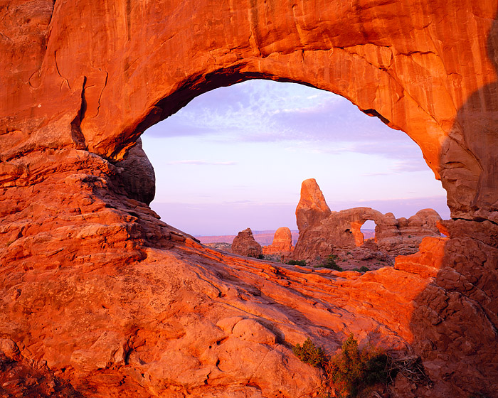 North Window, Turret Arch, Arches National Park, Moab, Canyonlands, photo