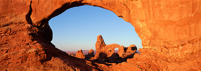 Arches National Park, Utah, North Window, Turret Arch, Colorado Plateau, Moab, photo