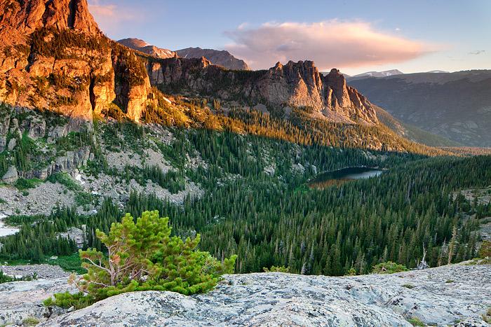Rocky Mountain National Park, Colorado, Odessa Lake, The Gable, Joe Mills Mountain, photo