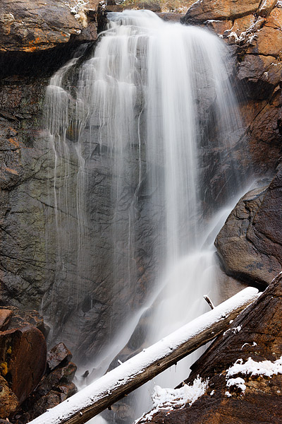 Ouzel Falls,Snow,Waterfall,Wild Basin,Colorado,Rocky Mountain National Park,saint vrain, photo