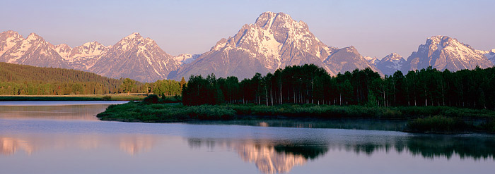 Oxbow Bend, Grand Teton National Park, Wyoming, Mt. Moran, River, photo