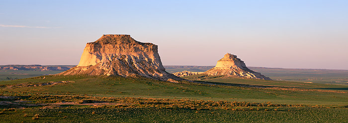Pawnee Buttes are located on Colorado's Eastern Plains. The Limestone Buttes are situated in the middle of the Pawnee National...
