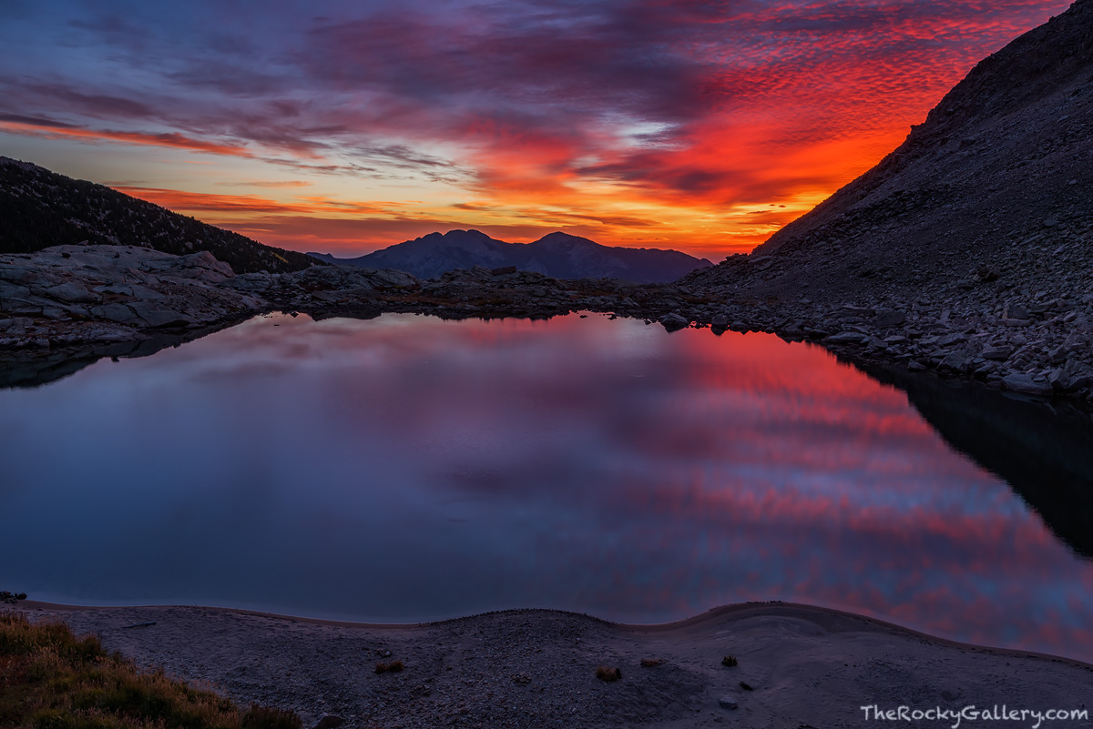Peacock Pool,Sunrise,Reflection,Twin Sisters,RMNP,Estes Park,Longs Peak,Longs Peak Trailhead,Colorado,Trout,Rocky Mountain National Park,Landscape,Photography,Dramatic,Chasm Junction,Chasm Lake,Climbe, photo