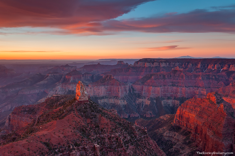 Grand Canyon, National Park, Mt. Hayden, Point Imperial, Arizona, North Rim,sunrise,landscape,photography, photo