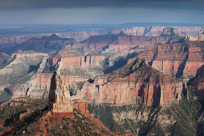 Grand Canyon, National Park, Pt. Imperial, Arizona, Mt. Hayden, North Rim, photo