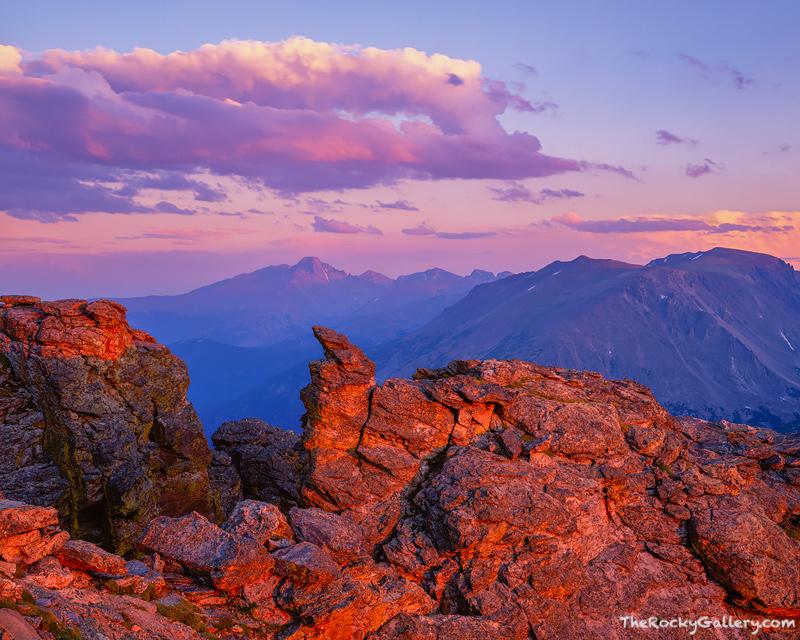 Rock Cut, Longs Peak, Rocky Mountain National Park, Estes Park, Trail Ridge Road, Grand Lake,RMNP,Landscape,photography,large format,forest canyon,Colorado,sunset, photo