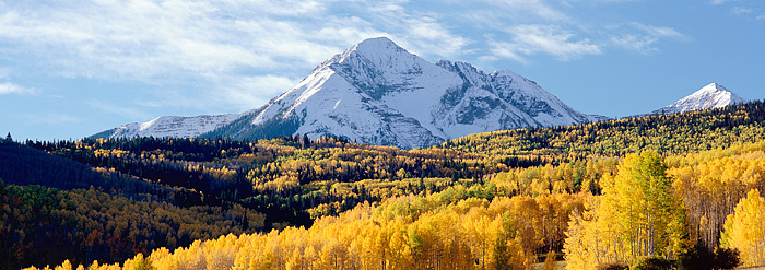 Fall is in full swing just outside of Telluride, Colorado. Wilson Mesa and Silver Pick road are a just outside the beautiful...