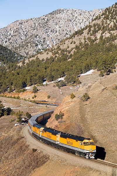 Ski Train, Denver, Union Station, Winter Park, Rio Grande, Colorado, photo