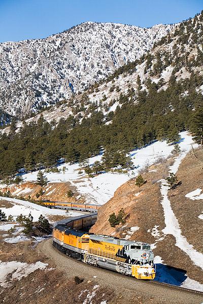 Ski Train, Union Pacific, Denver, Winter Park, Rio Grande, photo