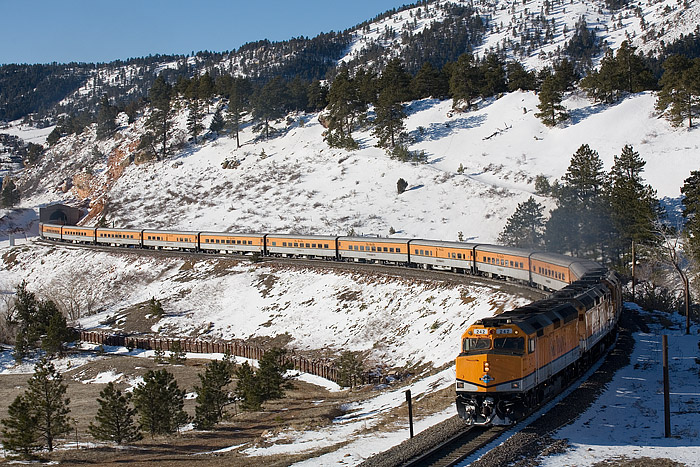 Ski Train, Denver, Union Station, Winter Park, Colorado, Union Pacific, Rio Grande, photo