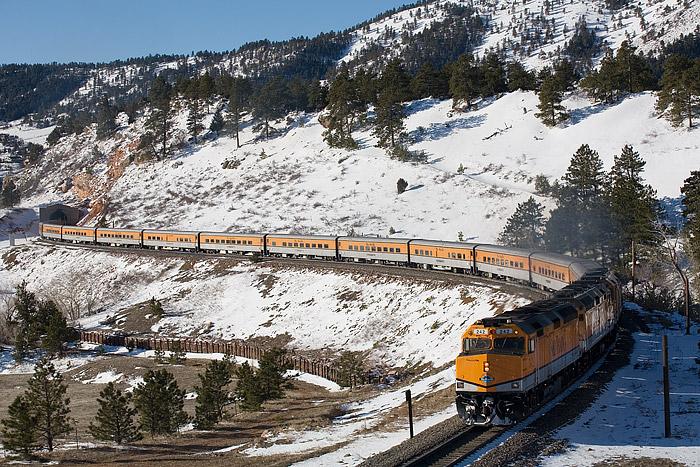 Ski Train, Denver, Union Station, Winter Park, Colorado, Union Pacific, Rio Grande, photo