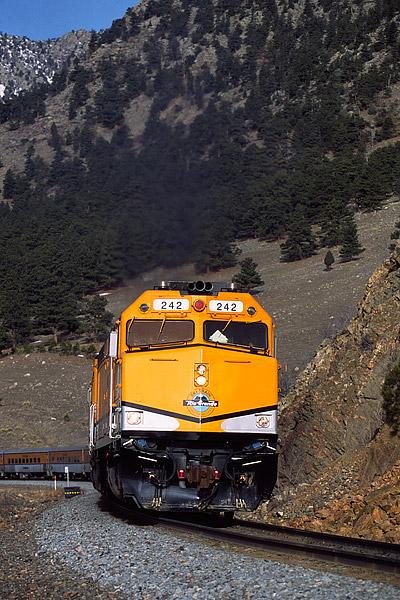 Ski Train, Moffat Tunnel, Winter Park, Denver, Front Range, Colorado, photo