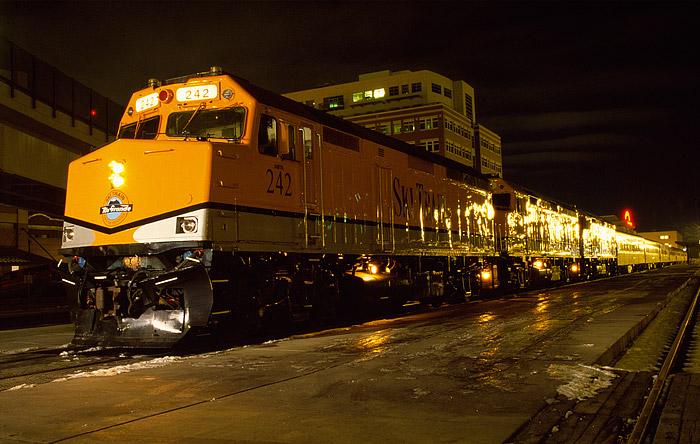 Ski Train, Denver, Winter Park, Colorado, Front Range, Moffat, photo