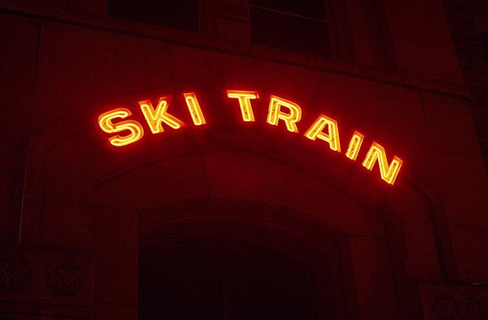 Ski Train, Union Station, Colorado, Winter Park, Denver, photo