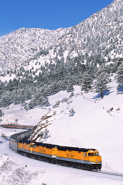 Ski Train, Denver, Winter Park, Front Range, Snow, Skiers, photo