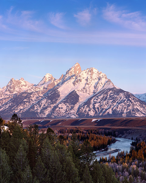 Grand Teton National Park, Snake River, Jackson Hole, Wyoming, photo